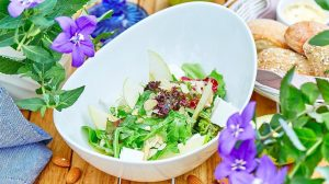 Green salat with mindal' and feta_ERWIN RЕКА