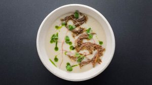 Molto Buono_cream soup with oxtails-min фото